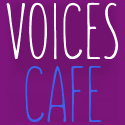 Voices Cafe Logo Banner